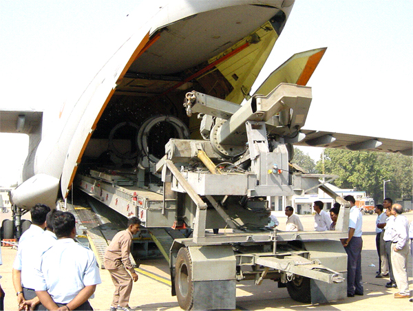 Customised Trailer for Rohini Radar Transportation by IL 76